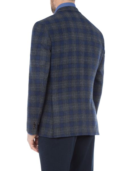 Baumler Marcel Checked Wool-Rich Slim-Fit Blazer
