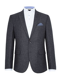 Andre Birdseye Wool-Rich Slim-Fit Blazer