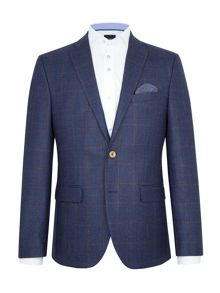 Baumler Leon Textured Wool-Rich Slim-Fit Blazer