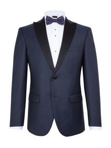 Baumler Hans Textured Slim Two Piece Dinner Suit