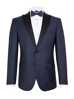 Hans Textured Slim Two Piece Dinner Suit