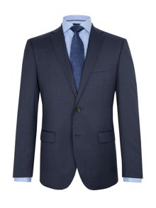 Baumler Axel Checked Slim-Fit Two Piece Suit