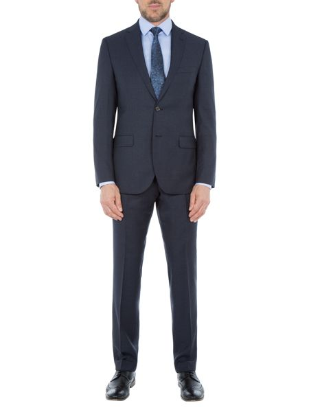 Baumler Arno Wool Peak Lapel Two Piece Suit