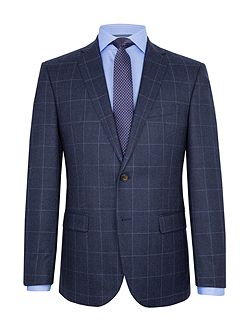 Emil Windowpane Check Slim-Fit Suit