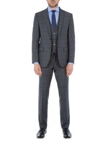 Baumler Felix Check Wool Slim-Fit Two Piece Suit