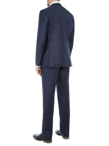 Baumler Anton Checked Slim-Fit Two Piece Suit