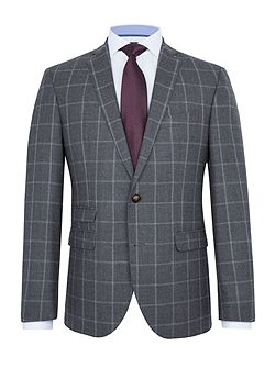 Bernd Checked Wool Super Slim-Fit Suit