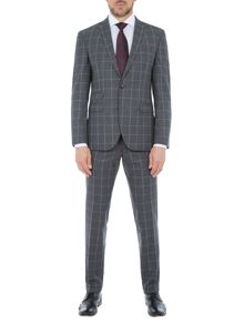 Baumler Bernd Checked Wool Super Slim-Fit Suit