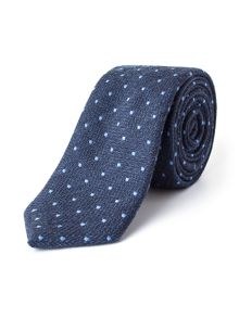 Paul Costelloe Strand Skinny Spot Wool-blend Tie