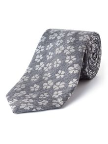 Paul Costelloe Broadly Floral Wool-Blend Tie