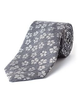 Broadly Floral Wool-Blend Tie