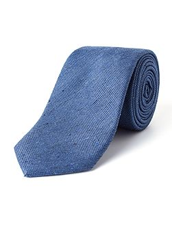 Camden Skinny Wool And Cotton Blend Tie