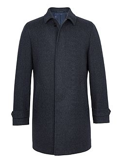 Sumner Wool-Rich Marl Overcoat