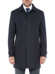 Paul Costelloe Sumner Wool-Rich Marl Overcoat