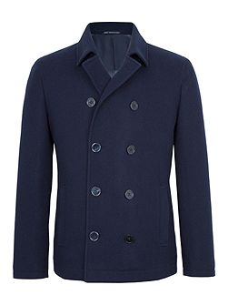 London Wool-Rich Peacoat