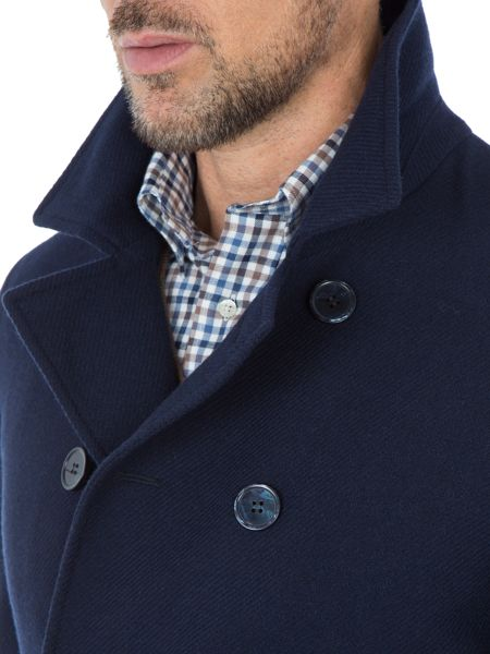 Paul Costelloe London Wool-Rich Peacoat