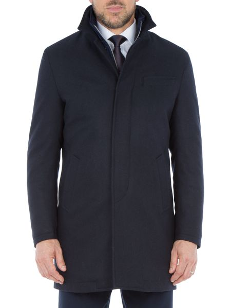 Paul Costelloe Edward Quilted Wool-Rich Coat