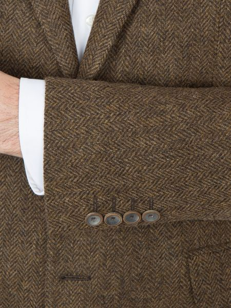 Paul Costelloe Holloway Herringbone Wool Blazer