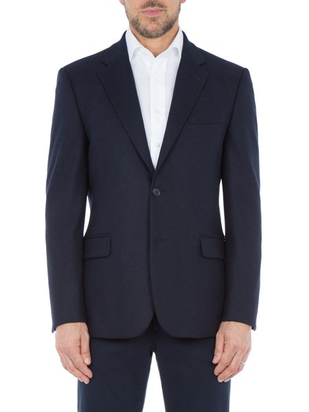 Paul Costelloe Price Textured Wool-Rich Blazer