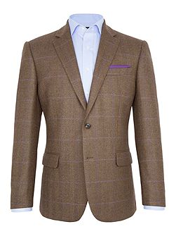George Check Wool Blazer
