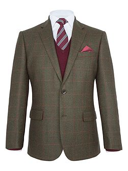 Fulham Check Wool Blazer