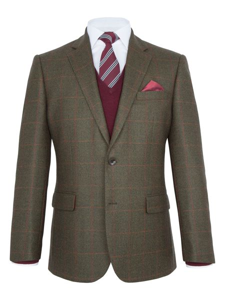 Paul Costelloe Fulham Check Wool Blazer