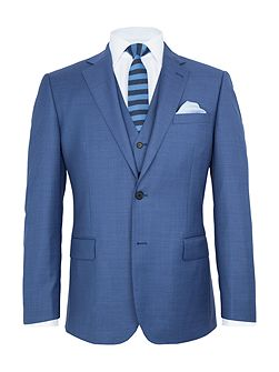 Chiltern Sharkskin Wool Suit Jacket