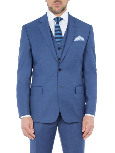 Paul Costelloe Chiltern Sharkskin Wool Suit Jacket