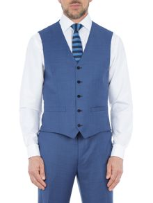 Paul Costelloe Chiltern Sharkskin Wool Suit Waistcoat