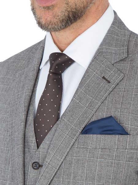 Paul Costelloe Charing Check Wool Two Piece Suit
