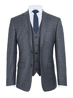 Gloucester Check Wool Two Piece Suit