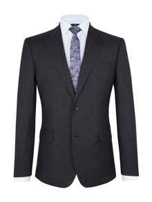Paul Costelloe Charcoal Micro Check Suit