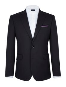 Paul Costelloe Black Textured Weave Blazer