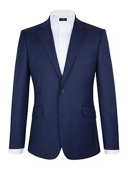 Royal Blue Textured Blazer