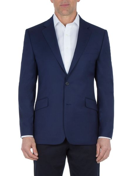 Paul Costelloe Royal Blue Textured Blazer