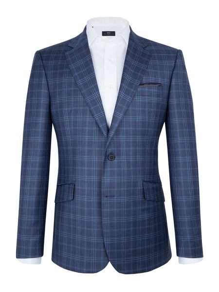 Paul Costelloe Prince of Wales Check Blazer