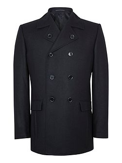 Page Wool-Rich Peacoat