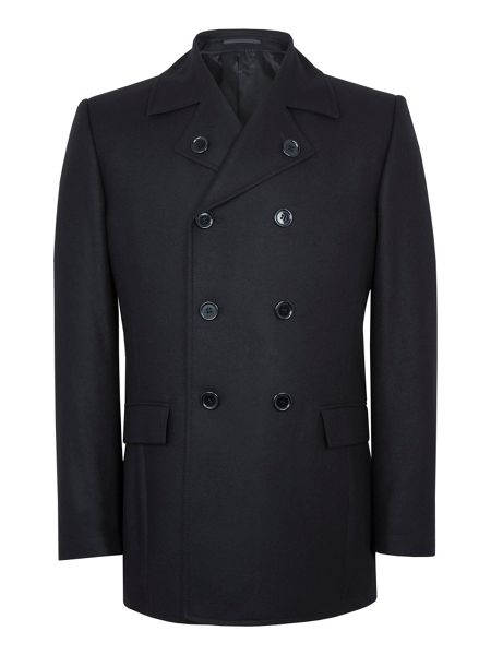 Paul Costelloe Page Wool-Rich Peacoat