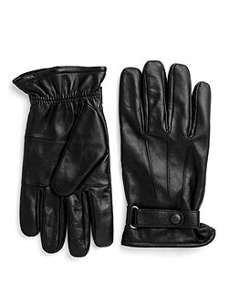 Longford Leather Gloves With Tab