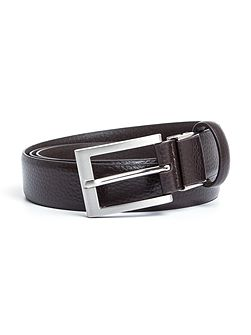 Hopton Grained Leather Formal Belt