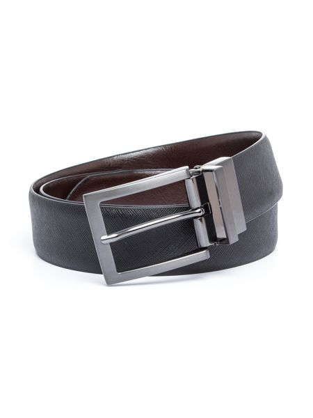 Baumler Arnold Textured Leather Formal Belt
