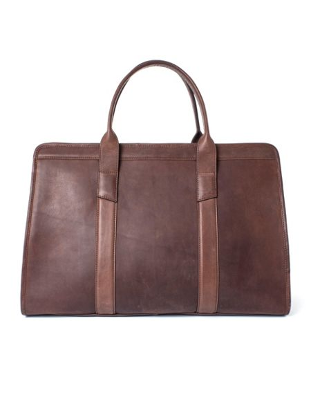 Paul Costelloe Lincoln Structured Leather Holdall