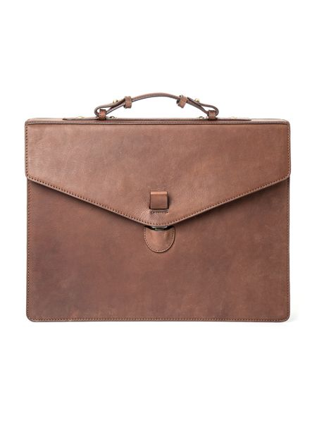 Paul Costelloe Lisson Leather Briefcase