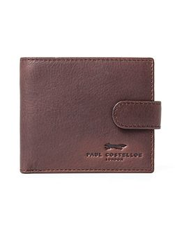 Mayfair Leather Tab Wallet