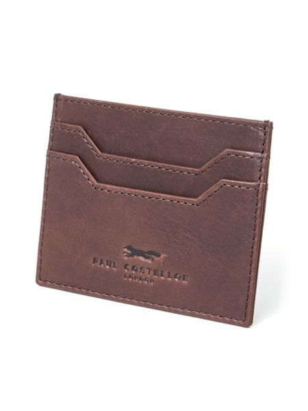 Paul Costelloe Holland Leather Card Holder