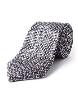 James Micro Geo Silk Tie