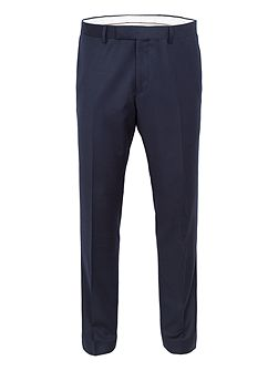 Burrell Basketweave Wool Slim-Fit Suit Trousers