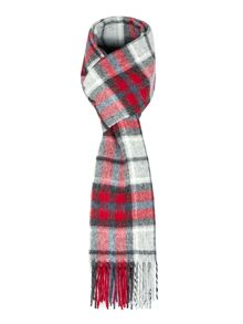 Paul Costelloe Enford Check Lambswool Scarf