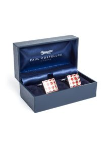 Paul Costelloe Milford Geometric Design Cufflinks