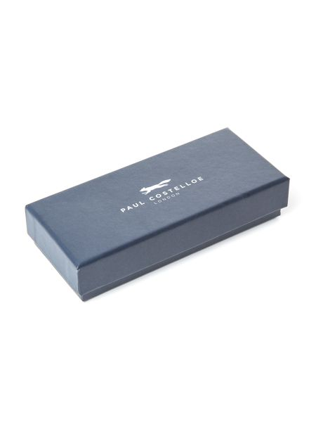 Paul Costelloe Larch Leather Embossed Keyring
